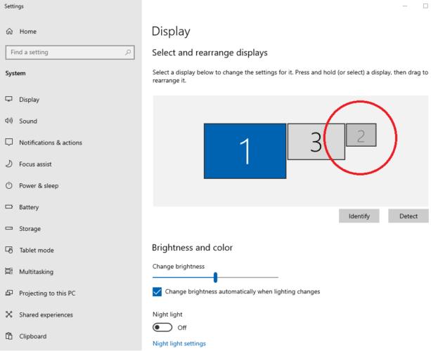 Microsoft Surface and 3 Monitors